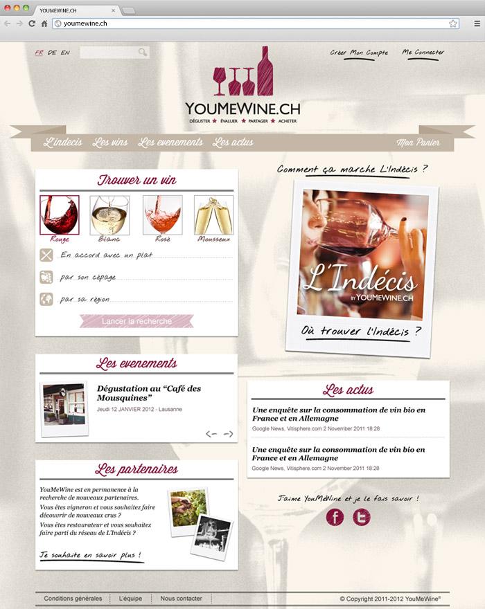 Youmwewine - home page