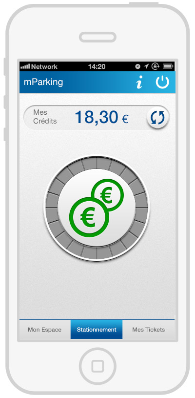 mParking - mobile payment - pay