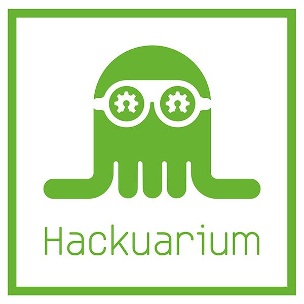 hackuarium logo green