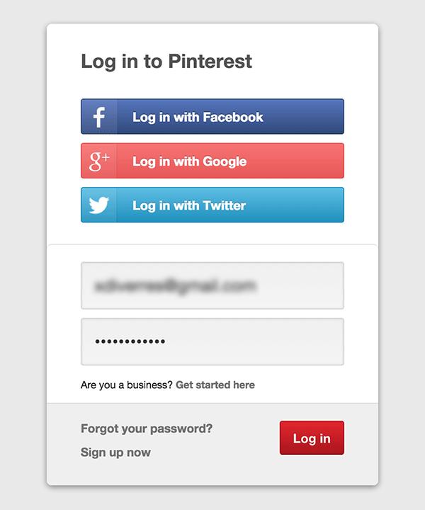 password forgotten