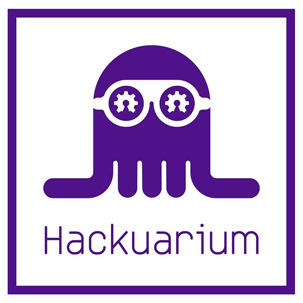 hackuarium logo purple